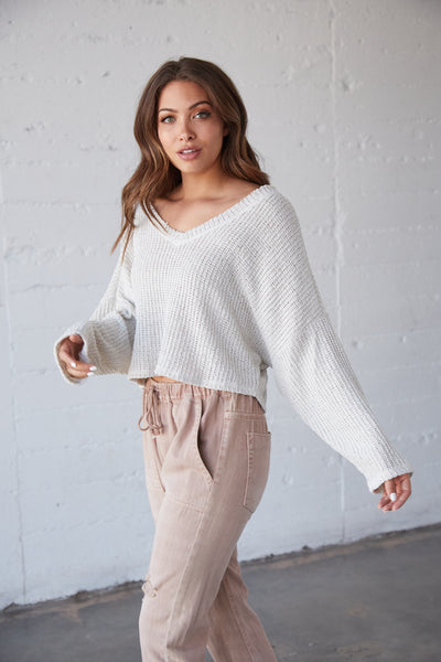 Feeling Free Knit Sweater