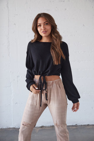 Venice Knit Crop Top