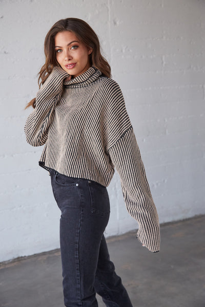 Native Daughters Afterglow Turtleneck Sweater