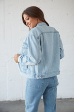 Levi's Ex Boyfriend Trucker Denim Jacket