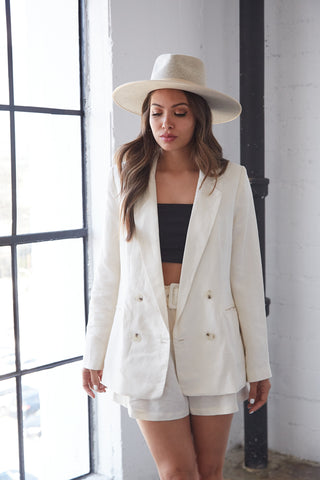 Native Daughters Willow Linen Blazer