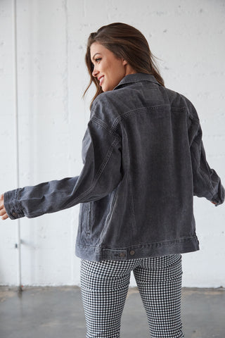Levi's Dad Trucker Jacket In Black