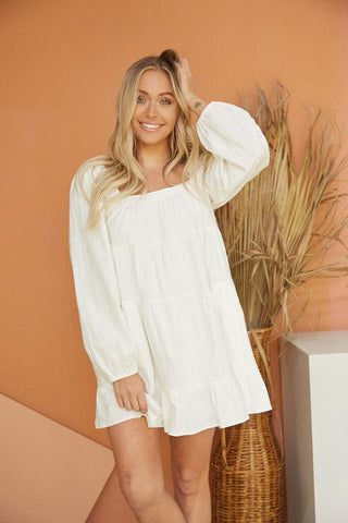 Aria Tiered Mini Dress