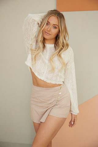Dream On Wrap Skort
