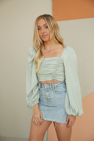 Valerie Denim Mini Skirt