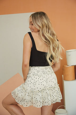 City Of Stars Ruffle Skirt
