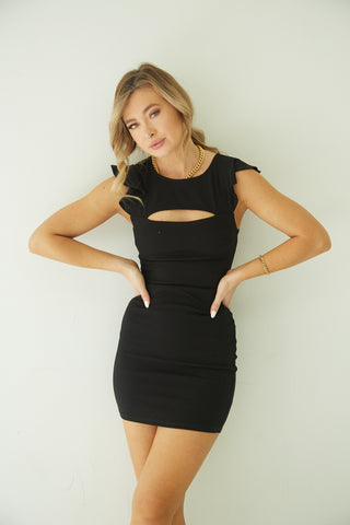 Maya Cut Out Mini Dress