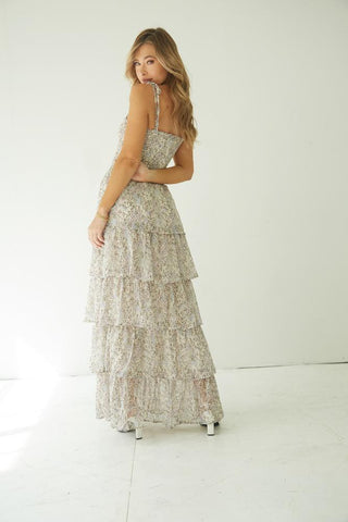 Southern Sun Tiered Maxi Dress