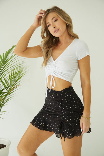 Summer Crush Cinched Crop Top