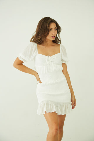 Shining Hour Mini Dress
