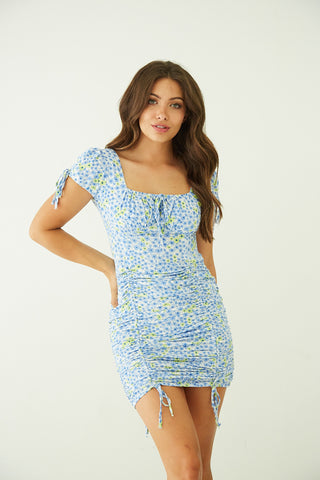Native Daughters Tessa Floral Mini Dress