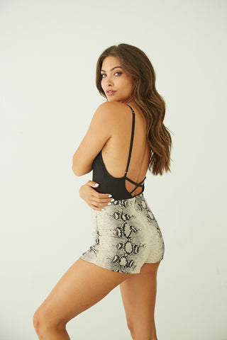 Day Tripper Ribbed Bodysuit