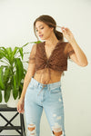 Out West Leopard Crop Top
