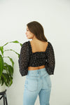 Native Daughters Aurora Cinched Crop Top