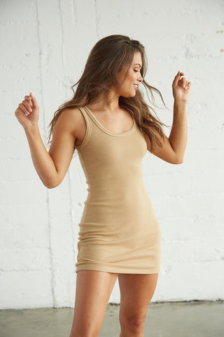Burbank Ribbed Tank Dress