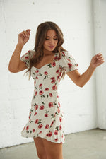 Love Song Floral Mini Dress