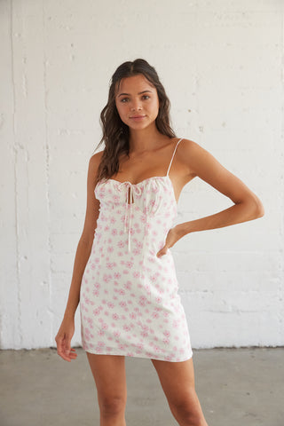 Sweet Embrace Floral Mini Dress