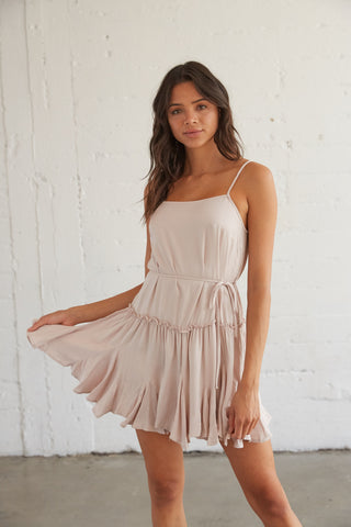 Cool Out Ruffle Dress