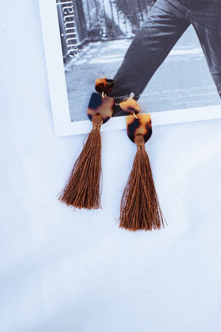 Sweet Touch Tassel Earrings