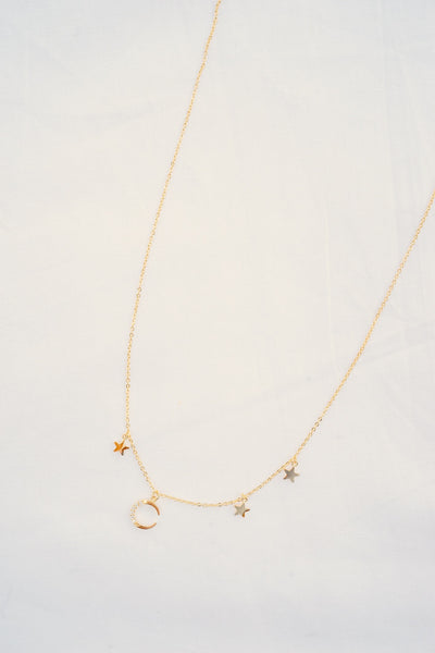 Hey Moon Celestial Necklace