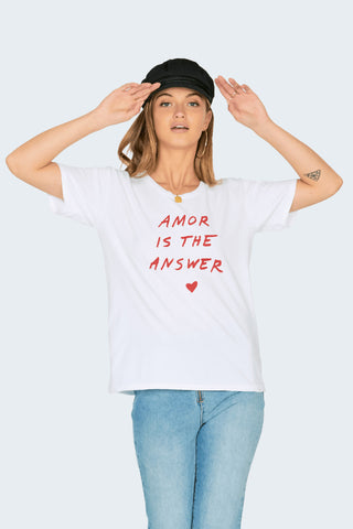 Amuse Society Amor Is The Answer Tee