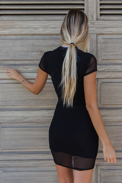 Wait For It Mesh Dress