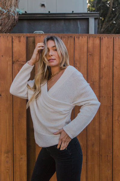 Native Daughters Melody Wrap Sweater