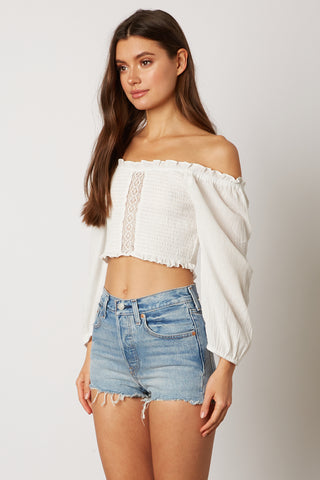 So Good Off Shoulder Top