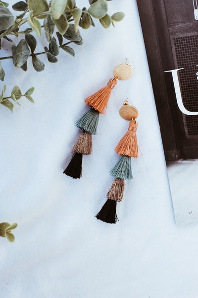 Better With You Tassel Earrings