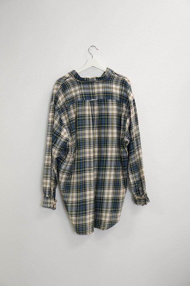 Shiloh Distressed Flannel Shirt