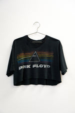 Pink Floyd Distressed Crop Tee
