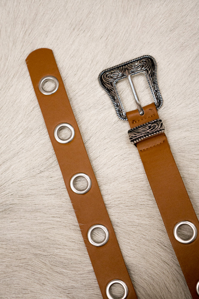 New Mexico Vegan Leather Belt