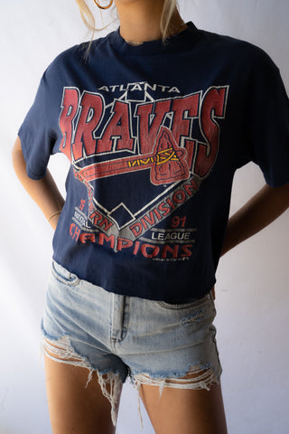 Worst To First Atlanta Braves Tee