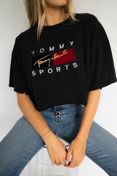 High Performer Tommy Sports Crop Tee