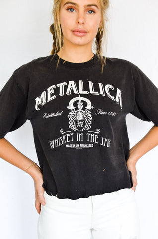 Stand & Deliver Metallica Tee