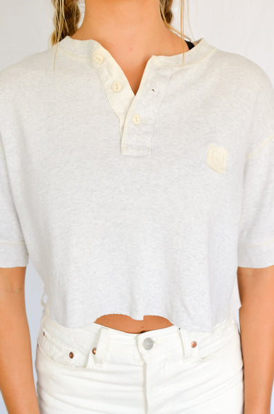 Polo Girl Ralph Lauren Cropped Tee