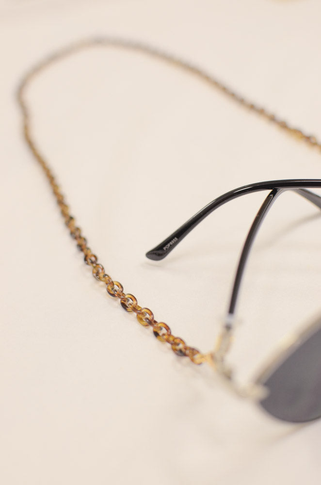 Tara Tortoise Sunglasses Chain