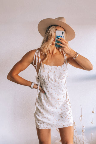 Floral Dreams Mini Dress