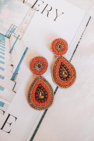 Joshua Tree Beaded Earrings