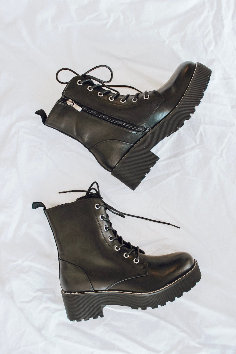 Mazzy Lace Up Boots