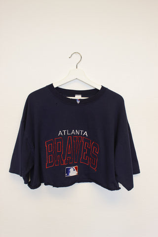 Go Braves Crop Tee