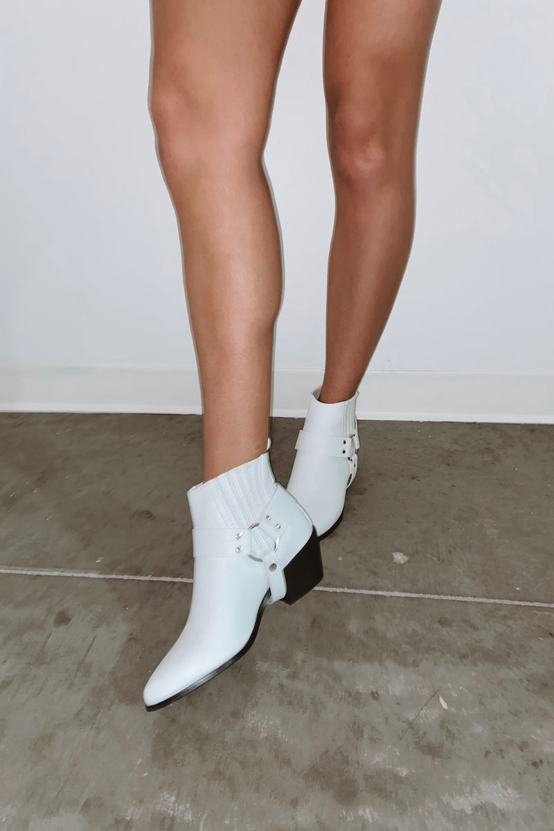 Billini Booties In White.