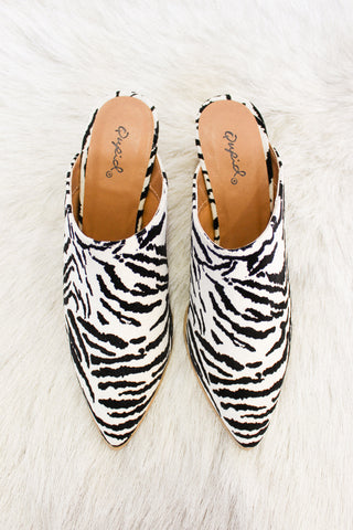 Twilight Safari Zebra Mule