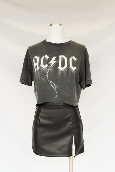 ACDC Night Out Crop Tee