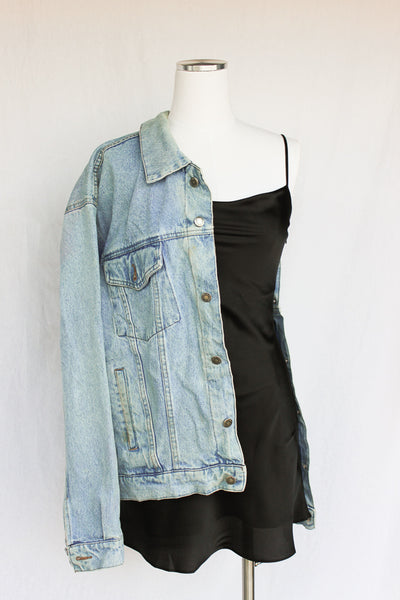 Wrangler Mia Oversized Denim Jacket