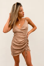 Call Me Cinched Mini Dress