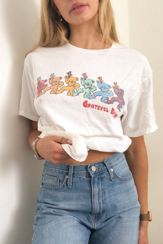 Junk Food Grateful Dead Dancing Bears Tee