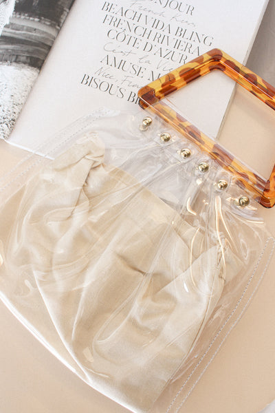 Barcelona Clear Vinyl Purse