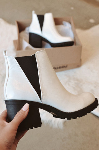 Chinese Laundry Lisbon Bootie in White