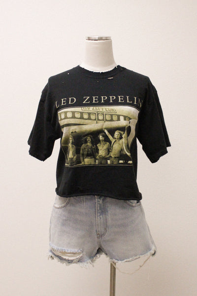With The Band Led Zeppelin Tee